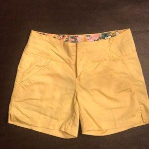 a3235d41e7 Copper Key Juniors size 1 yellow shorts